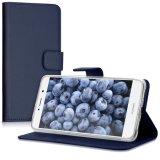 Caja azul del teléfono móvil de la carpeta para Huawei, iPhone, Samsung