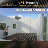 Casa prefabricada económica del panel de emparedado del EPS con dos dormitorios