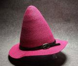 2017 novíssimo design de moda Multicor Spire Chapéu de Palha