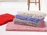 Eco-Friendly половой коврик синеля выскальзования сплошных цветов анти-