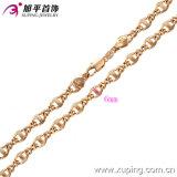 Joyería del hombre a la moda collar de Rose del color oro (42393)