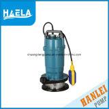 Bomba de água submergível do elevador Qdx1.5-32-0.75 elevado para a água pura