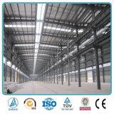 Buen hangar fácil/taller/almacén de la estructura de acero de la estructura de Qualtity con la grúa