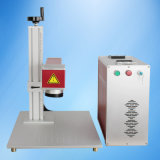 Máquina de marcação a laser com 20W para plástico, sistema de marcação a laser