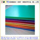 De kleurrijke Tekens van de Werf van het Blad van het Blad van pp Holle Coroplast Golf Plastic