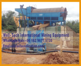 Centrifugeuse de lavage de fleuve de placer de minerai alluvial d'or