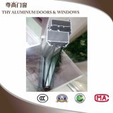 Ventana Anti-Mosquito de aluminio con cristal templado