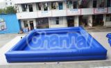 Het vierkante Opblaasbare Speelgoed van het Water van het Zwembad Opblaasbare (chw445)