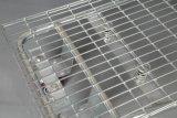 Karretje van het Pakhuis van de Lading van de Opslag van Supermarekt het Logistische Vlakke
