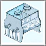 Horizontaler Doppel-Welle Schaufelmischer für Kitt-Puder