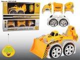 아이를 위한 빛을%s 가진 트럭의 4개의 채널 건축 장난감
