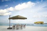 6-8personシートとしてChair&Table著セットを(YT623-1)食事する新しい屋外の庭のAluminum+PE藤の家具