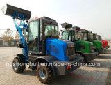 800kg de carga nominal y la certificación CE mini cargadora de ruedas