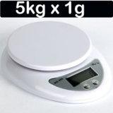 소형 LCD 디스플레이 디지털 부엌 음식 가늠자 5kg/11lb