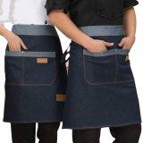 Изготовленный на заказ рисбермы износа кухни Jean джинсовой ткани высокого качества