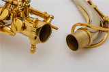 판매 알토 색소폰 ---Cupronickel 바디 /Gold에 의하여 도금되는 키