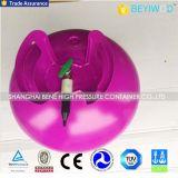 50の気球を満たすことができる使い捨て可能なヘリウムタンク
