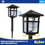 忠節な中国の工場黒LED防水LEDのフィラメントの球根の屋外の太陽電池パネルの太陽芝生の照明