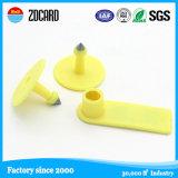 동물성 검사 플라스틱 Hf ISO 동물성 귀 수동적인 RFID 꼬리표