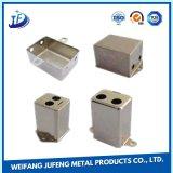 CNC de encargo de la precisión que estampa el rectángulo/la cabina/el caso de aluminio de la fabricación de metal de hoja