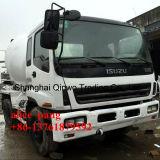 Camion mescolantesi utilizzato di Isuzu con il timpano del miscelatore 8cbm da vendere