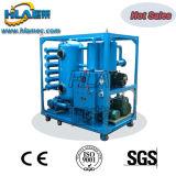 Máquina de vacío de doble procesamiento de aceite de transformadores