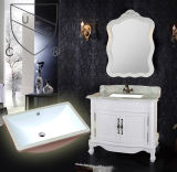 Аттестация Cupc под встречной керамической раковиной ванной комнаты (SN024)