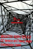 Tensionamento di CC di Megatro 500kv 5e6-Sj3 e torretta pesante della trasmissione di angolo