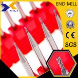 45 ou 55 grau Micro carboneto de Grãos 2/3/4 Miolo Final fresa