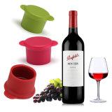 Sy03-03-001 en silicone de la FDA de gros bouchon de bouteille de vin rouge