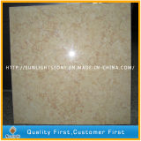 De natuurlijke Gele Zonnige Beige Tegels van de Vloer en van de Muur van de Steen Marmeren