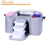 устроитель мешка охладителя обеда коробки еды 3pack с бортовым карманн 2
