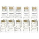 Gigabit del cable de LAN de UTP CAT6 los 305m Platija-Pasajero y Poe compatible
