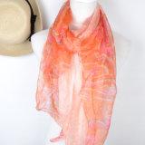 Impreso Digital de gasa de seda bufanda para dama