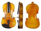 Violon allemand professionnel 4/4 de d'une seule pièce de Stradivari