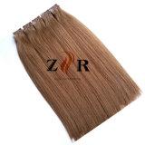 毛の拡張のインドのバージンのRemyの人間の毛髪3mテープ