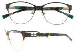 Geen In het groot Heldere Meisjes Eyewear van de Frames van de Glazen van het Metaal van de Kleur MOQ