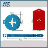 Etiqueta suave grabada diseño nuevo del equipaje del PVC