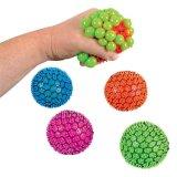 Squishy malla 6cm de Alivio de tensión de la Uva de bola bola aprieta la mano de juguete muñeca Squishies