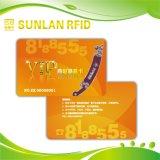 고주파 인쇄할 수 있는 PVC RFID Contactless 지능적인 IC 카드