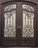С другой стороны, Наружные защитные элементы утюг двойные двери для продажи 36X84