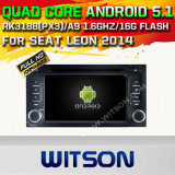 Witson Android 5.1 Car GPS pour Seat Leon 2014 (A5570)
