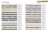 ソファーの釘Strimsの家具製造販売業の装飾的な釘Strims (13030006)