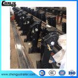 ISO Certificated Black Steel Semi Trailer Parts 24t Landing Leg