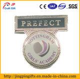 Emblema Distintivo de pino de metal personalizado com o jornal logotipo impresso