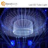 Lumière de la danse 3D de l'étape DEL de concert d'éclairage de la décoration DEL de disco de mariage