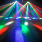LED 8 yeux Araignée Moving Head Light pour Show Party