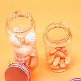 Nuovo tipo mini bottiglia di vetro della caramella con metallo con tappo a vite per uso dello zucchero