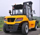 Diesel van de V.N. 9.0t Vorkheftruck met Originele Motor Isuzu met Duplex 5.0m Mast