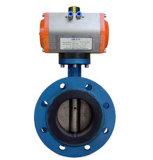 Нержавеющая сталь 304/вафель волочения контроля температуры дюйма 316L 1-10 клапан-бабочка пневматическим управлением 300 фунтов